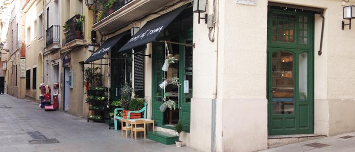 Tiendas alimentación ecológica parte alta de Barcelona