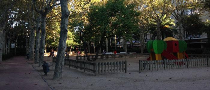 Inmofinders blog Barcelona parque Villa Amelia Sarrià Sant Gervasi zona alta