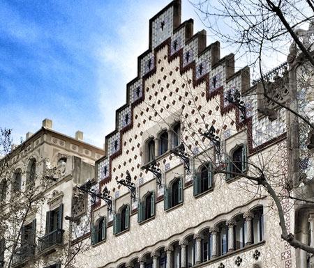 Fachada Casa Amatller Barcelona