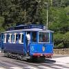 La ruta de los tranvías azules