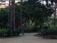 Vivir en un piso con vistas al Turó Park