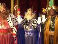 Los Reyes Magos visitan la parte alta de Barcelona