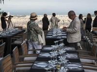 Cenas con Estrellas en la parte alta de Barcelona