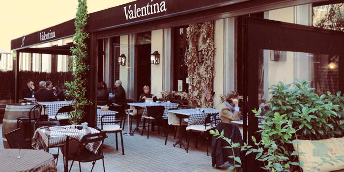 Valentina Restaurante Con Terraza En Barcelona Zona Alta