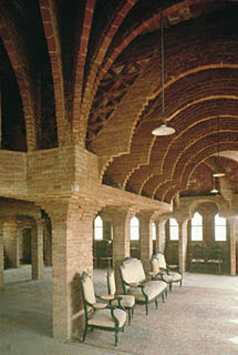 interior Torre Bellesguard zona alta Barcelona