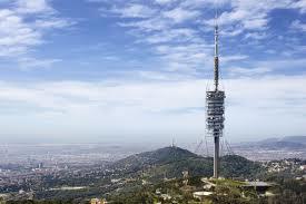 Torre Collserola zona alta de Barcelona