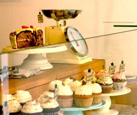 comer cupcakes en la zona alta de Barcelona