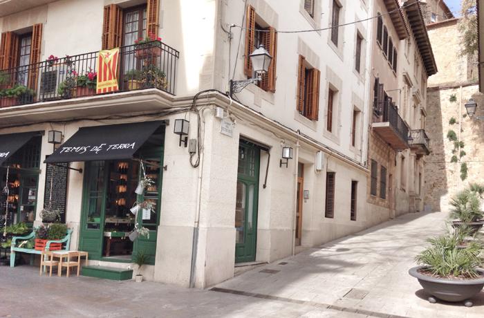 Calles del Barrio de Sarrià Barcelona