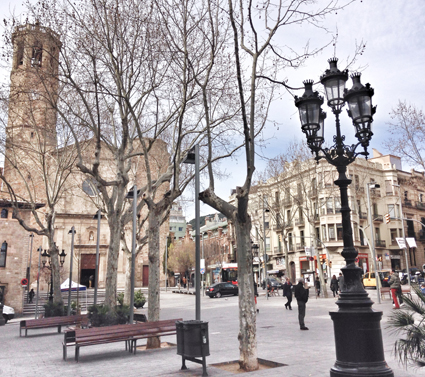 Barrio de Sarrià Barcelona un barrio muy familiar