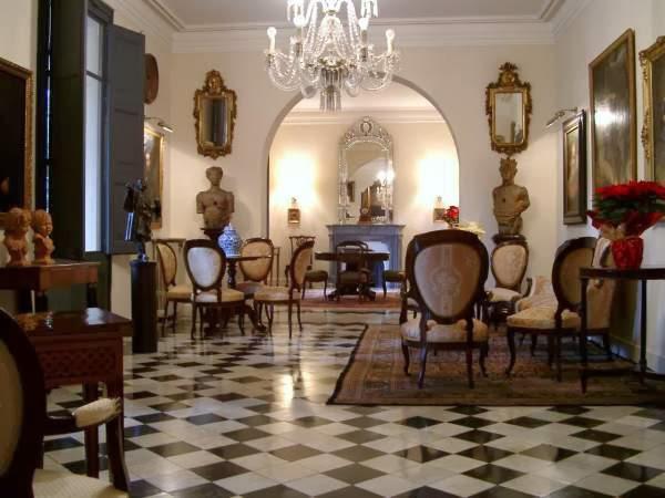 interior palacete rocamora en la zona alta de Barcelona