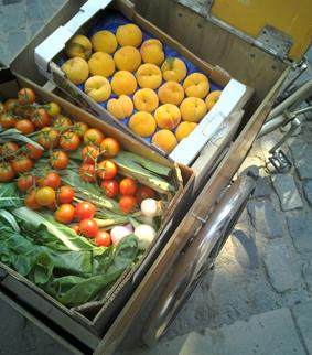 Comercios alimentación ecológica en la parte alta de Barcelona