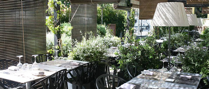 Restaurantes con terraza en la parte alta de Barcelona