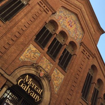 Mercat Galvany en la zona alta de Barcelona