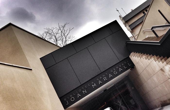 Biblioteca joan Maradall Sant Gervasi