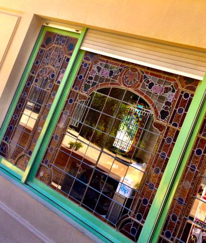 Vidrieras casa Orlandai Sarrià Barcelona