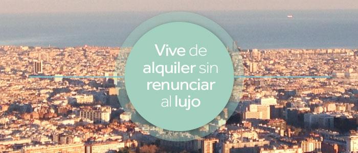 Inmofinders pisos de lujo en alquiler Barcelona