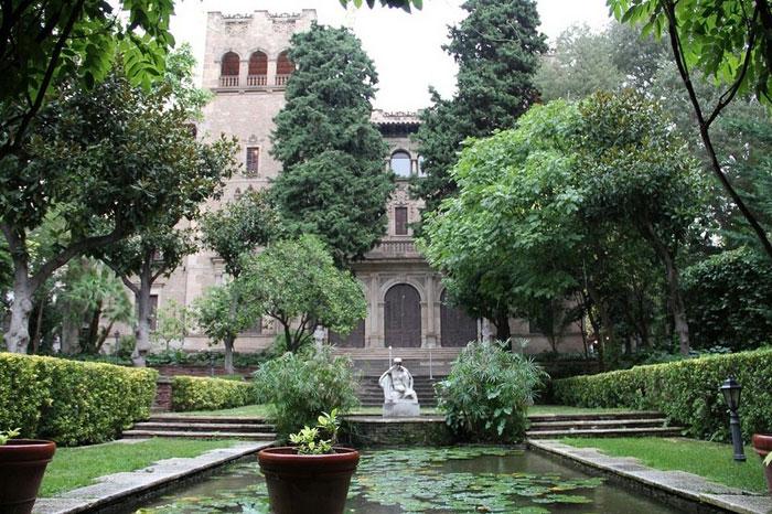 jardines julio mu oz ramonet en zona alta de barcelona i