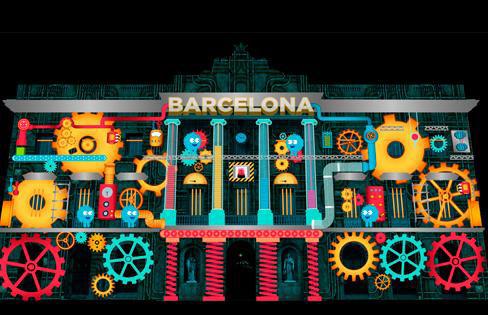 Inmofinders llum Barcelona