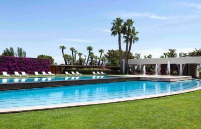 piscina exterior hotel juan carlos I Barcelona