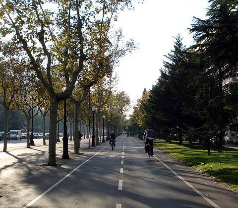 moverte en bicicleta por Barcelona