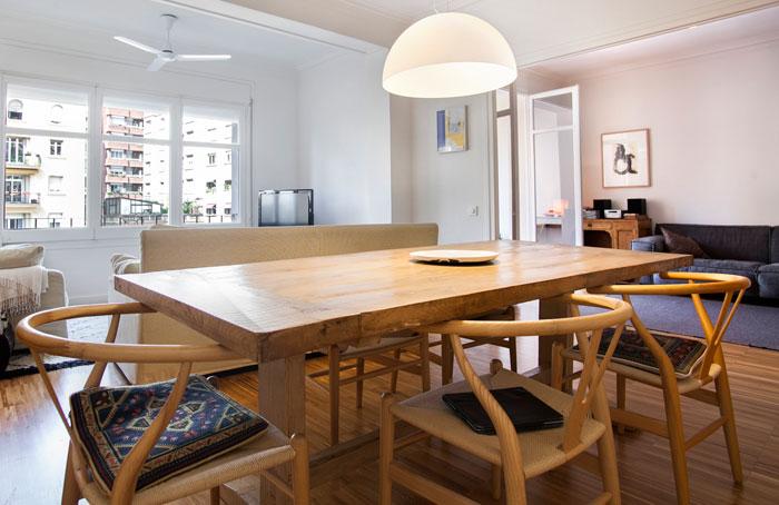 Comedor piso en venta en Sant Gervasi Bonanova