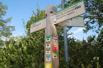 Itinerarios parque Collserola