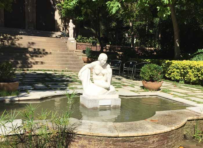 Jardins Muñoz Ramonet Sant Gervasi barcelona