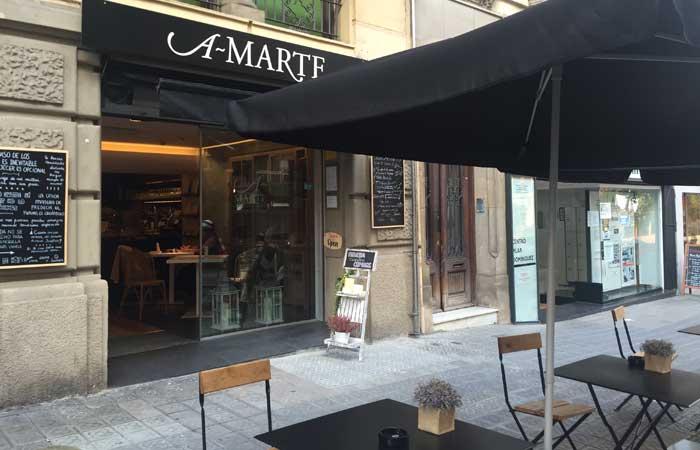 Amarte barcelona, comida sana ocio cultura zona alta barcelona