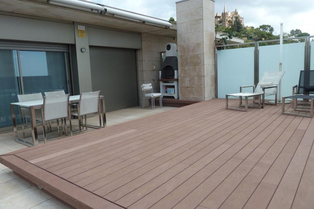 Tico d plex en tibidabo barcelona alquiler - Atico terraza barcelona ...