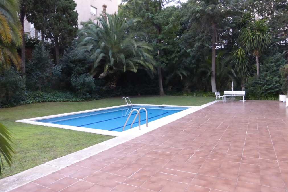 Piso de lujo en pedralbes barcelona alquiler - Pisos con piscina en barcelona alquiler ...