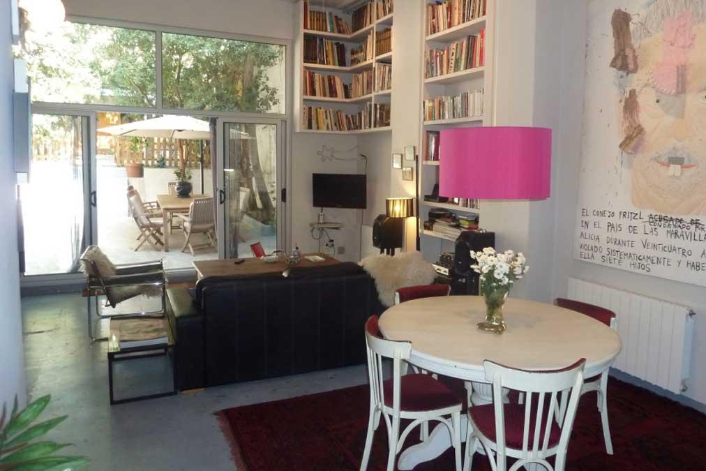 Casa alto standing en gracia barcelona alquiler - Agente inmobiliario barcelona ...